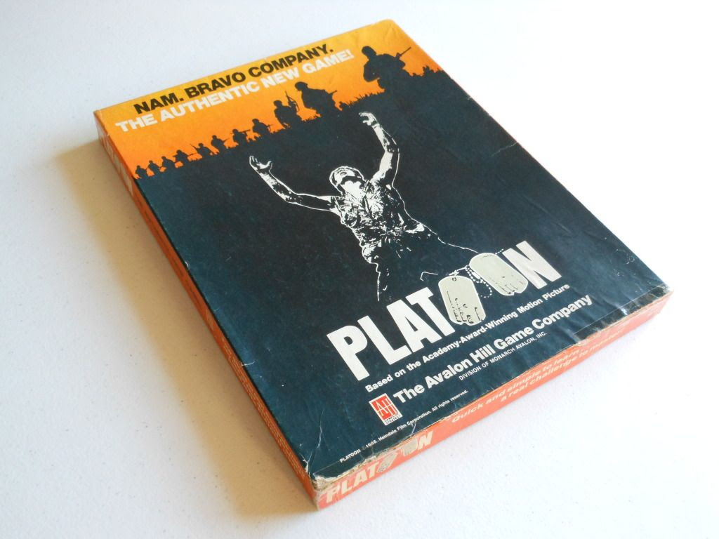 Platoon board game box