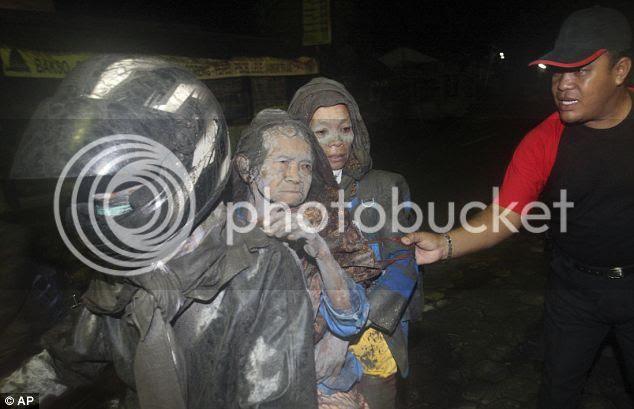 Foto-Foto Korban Wedhus Gembel Merapi Yang selamat
