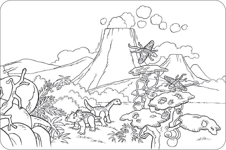 Ausmalbilder Dinosaurier Mandala | Aiquruguay