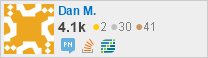profile for Dan M. on Stack Exchange, a network of free, community-driven Q&A sites