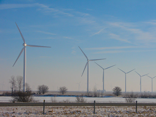 Indiana wind farm
