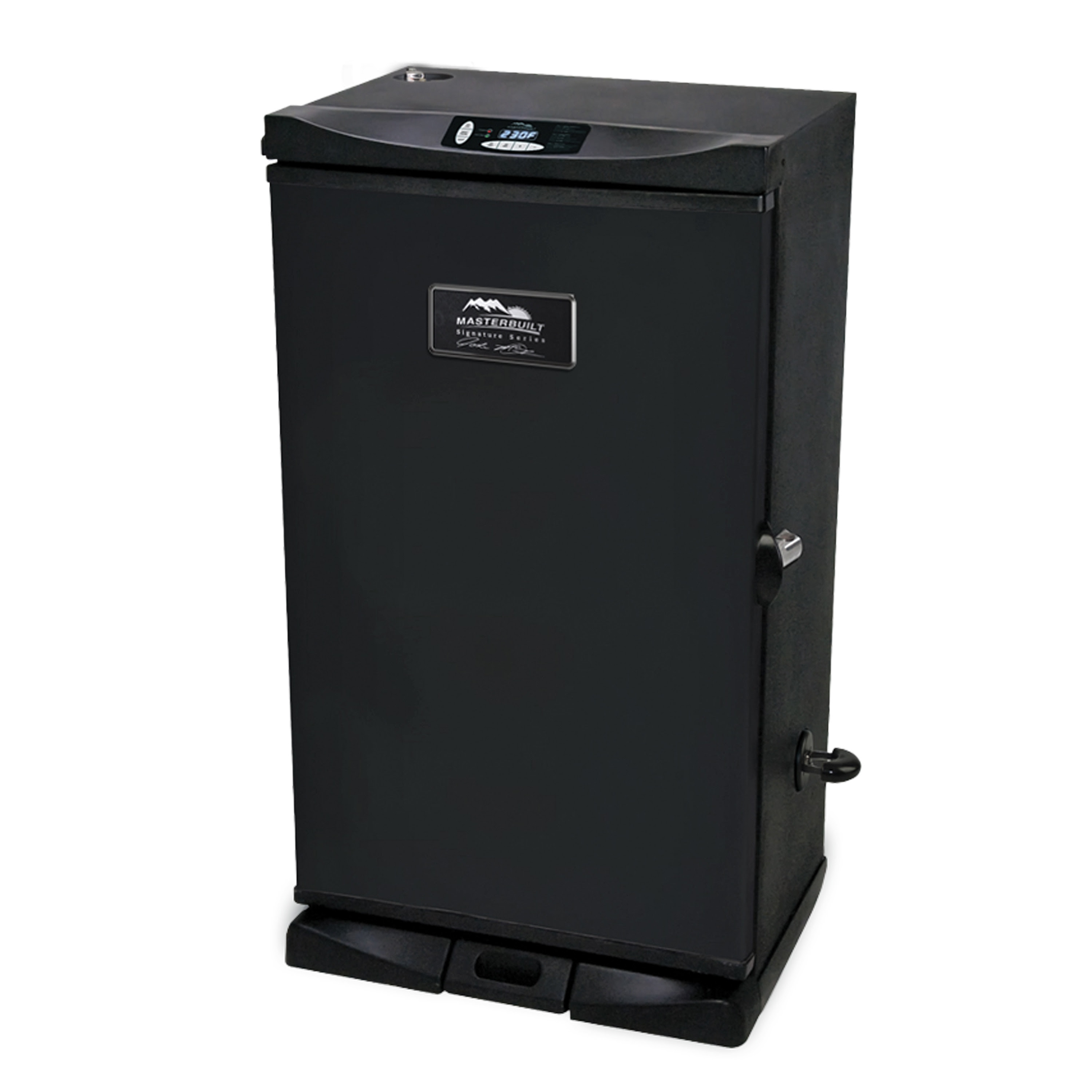 Masterbuilt Jmss 975 Sq In Black Electric Smoker In The Electric Smokers Department At Lowes Com