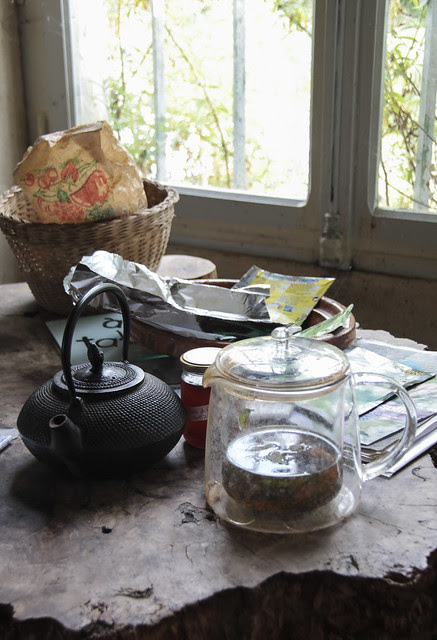 Aline's house - kitchen