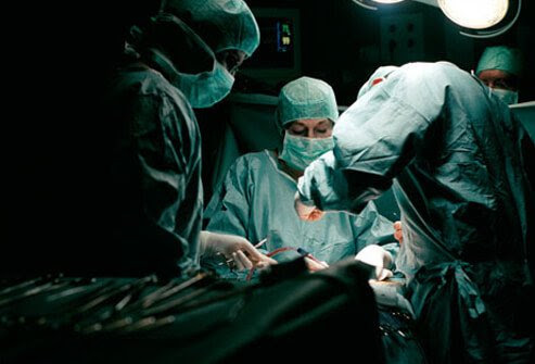 Photo of prostate cancer surgery.