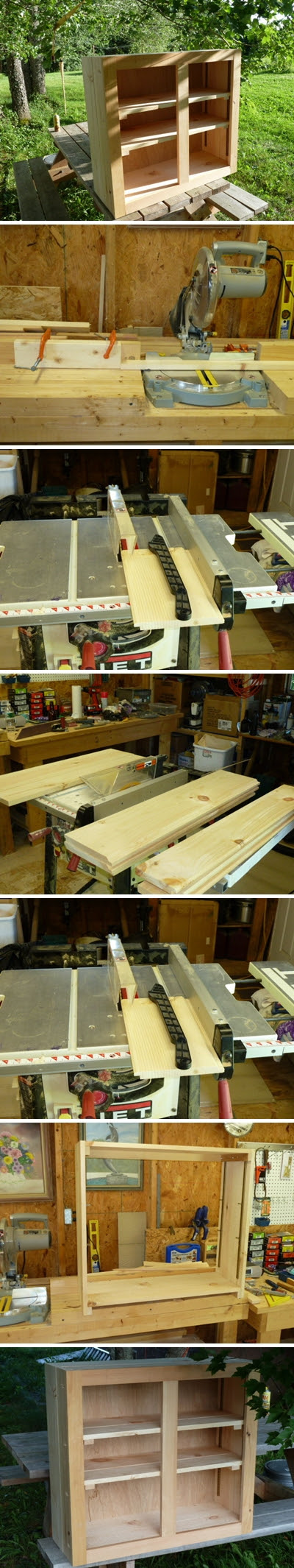 How to build your own kitchen cabinets step by step DIY ...