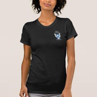 Human Trafficking Awareness Ribbon Angel Shirts