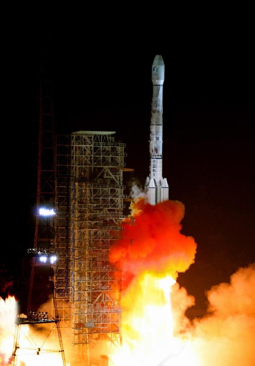 Chang'e-3 Lunar Probe Launch