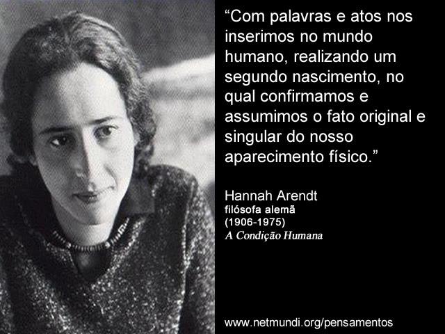 Hannah Arendt Archives Netmundiorg