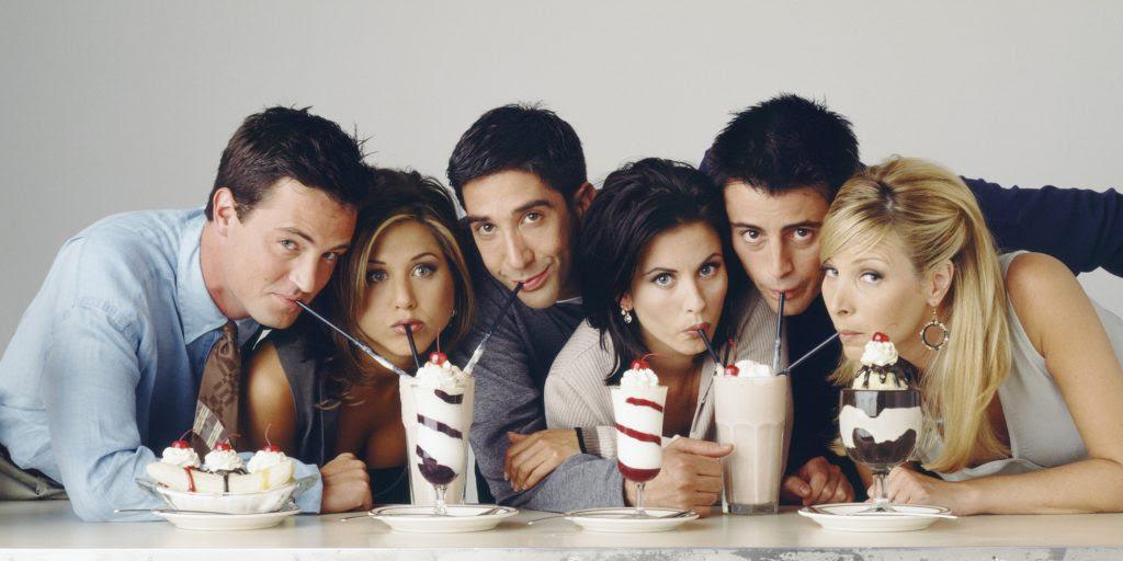 Grupos De Amigos Memorables En La Tv Qué Andan Diciendo