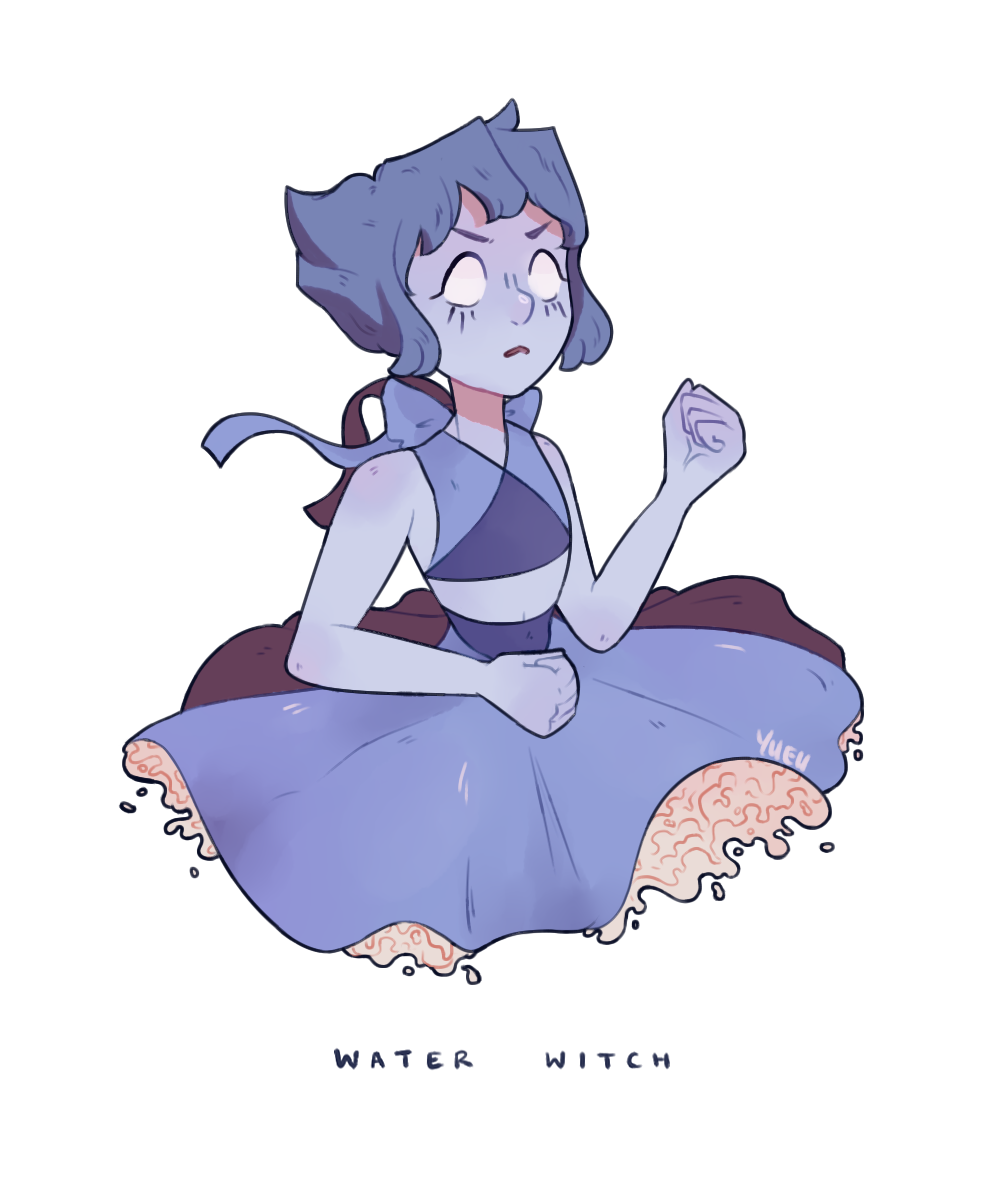 your local vengeful water witch (transparent)