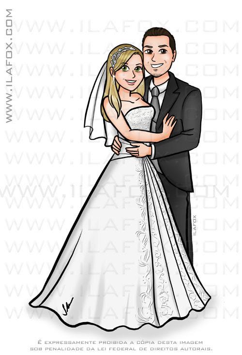 caricatura desenho casal, caricatura noivos, caricatura para casamento, caricatura bonita, by ila fox