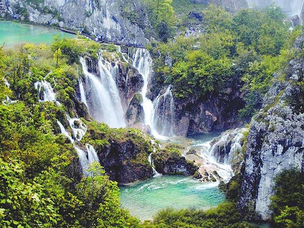 Plitvické jazerá symbol Chorvátska