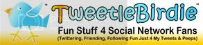 TweetleBirdie - Shopping for Facebook, Twitter Tees, Gifts