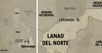 Linamon Location Map