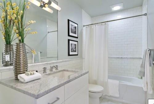 Matte or Gloss tile bathroom?