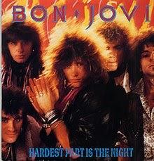 Bon Jovi The Hardest Part Is The Night Lyrics