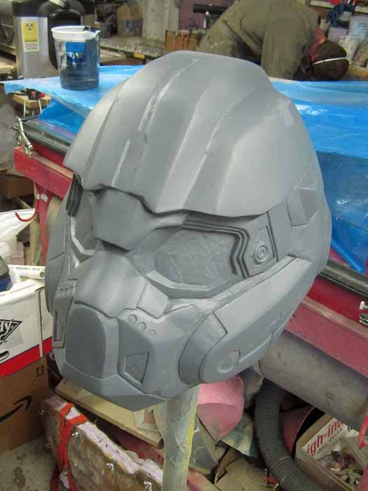 Helmet prototype 95 percent done