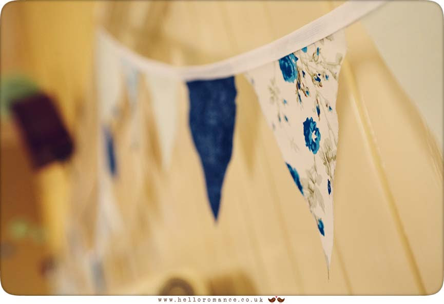 Vintage Bunting Wedding - Hadleigh Wedding Photography Suffolk- Hello Romance