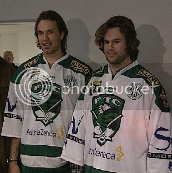 Rob Niedermayer and Jason Strudwick in Hungary