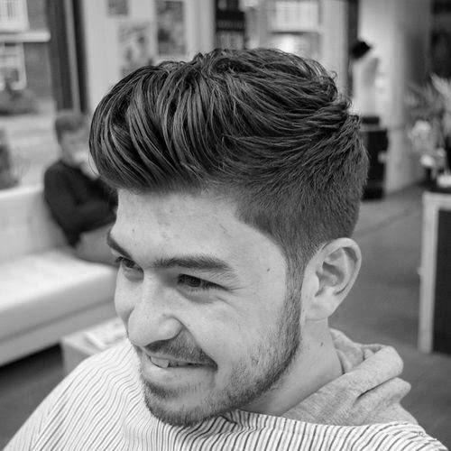 Moderne Tolle Frisuren Für Jungs Mit Kurzen Länge An Den Seiten