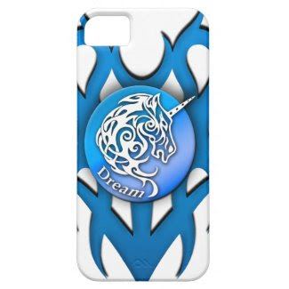 Unicorn (Dream) blue iPhone 5 Covers