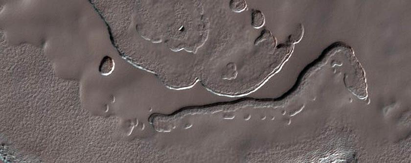 Residual South Polar Cap Deposits