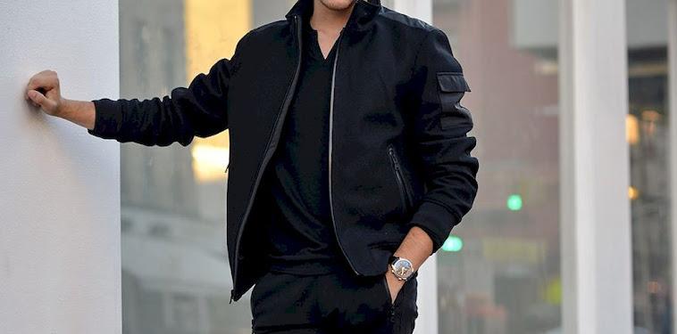 Black Jacket Outfit Men