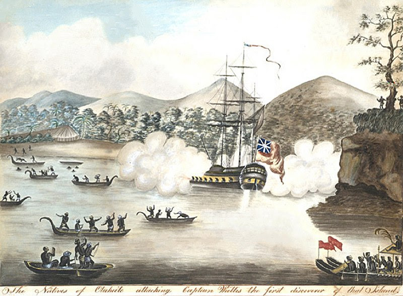 File:The Natives of Otaheite Attacking Captain Wallis retouched.jpg