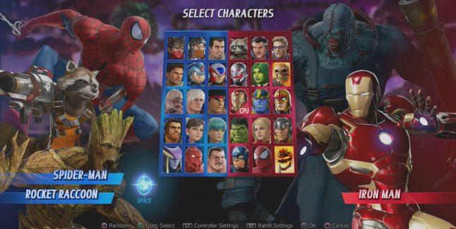 Resultado de imagen para marvel vs capcom infinite characters