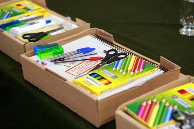 Kit escolar completo garante igualdade aos alunos da rede municipal  (Foto: Divulgação)