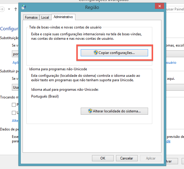 Alterando idioma da tela de login (Foto: Reprodução/Helito Bijora)