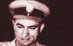 Young officer Hosni Mubarak