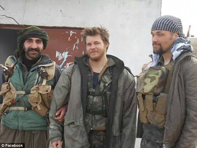 A fellow fighter detailed one of the final conversations she had withJohnston, who said that he fought for the Kurdish People's Protection Units (YPG) because he 'couldn't take the children and women that ISIS-thugs slaughtered'