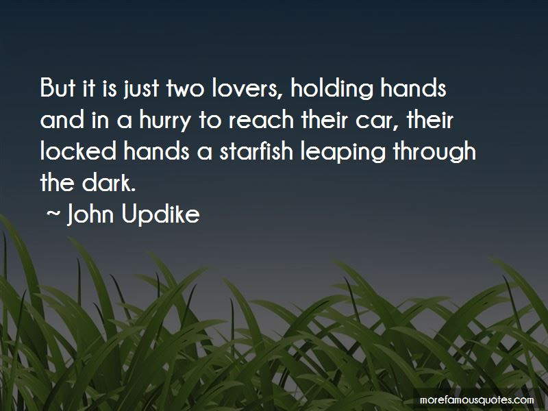 Quotes About Lovers Holding Hands Top 3 Lovers Holding Hands Quotes