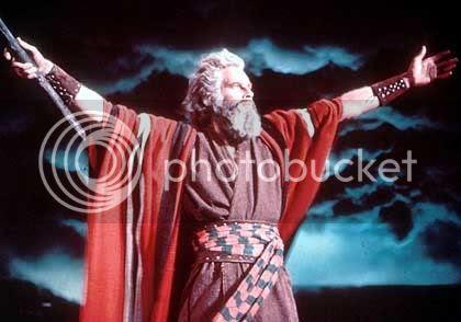 Heston in Ten Commandments