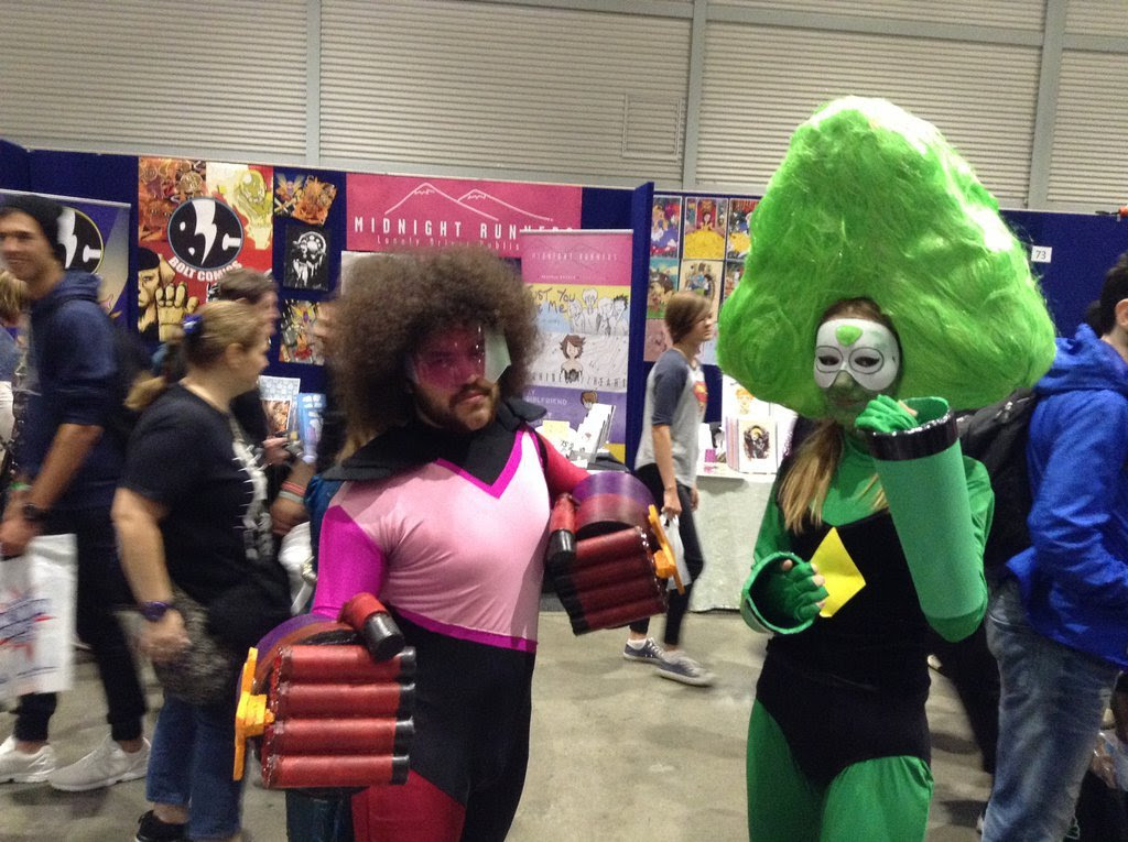 Character: Garnet (Genderbent) Series: Steven Universe Cosplayer: FFiamgoku (DeviantArt)