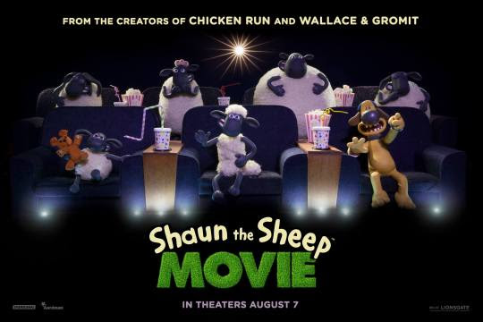 posters for Shaun The Sheep Movie