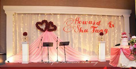 Wedding Decoration at Harmony Banquet Restaurant, Puchong