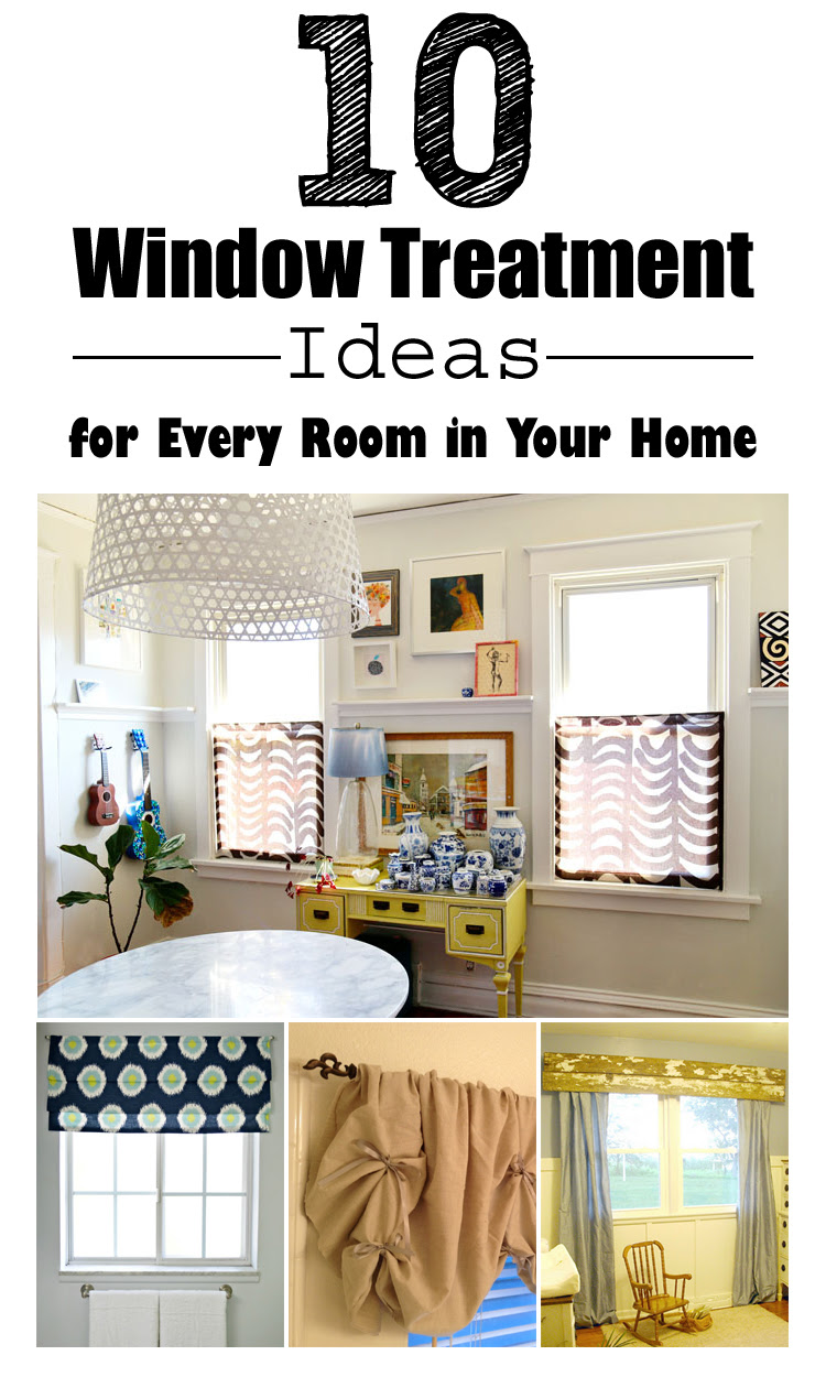 17 DIY Window Treatment Ideas for Every Room in Your Home