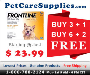 Buy Now & Get Free Doses of Frontline Top Spot