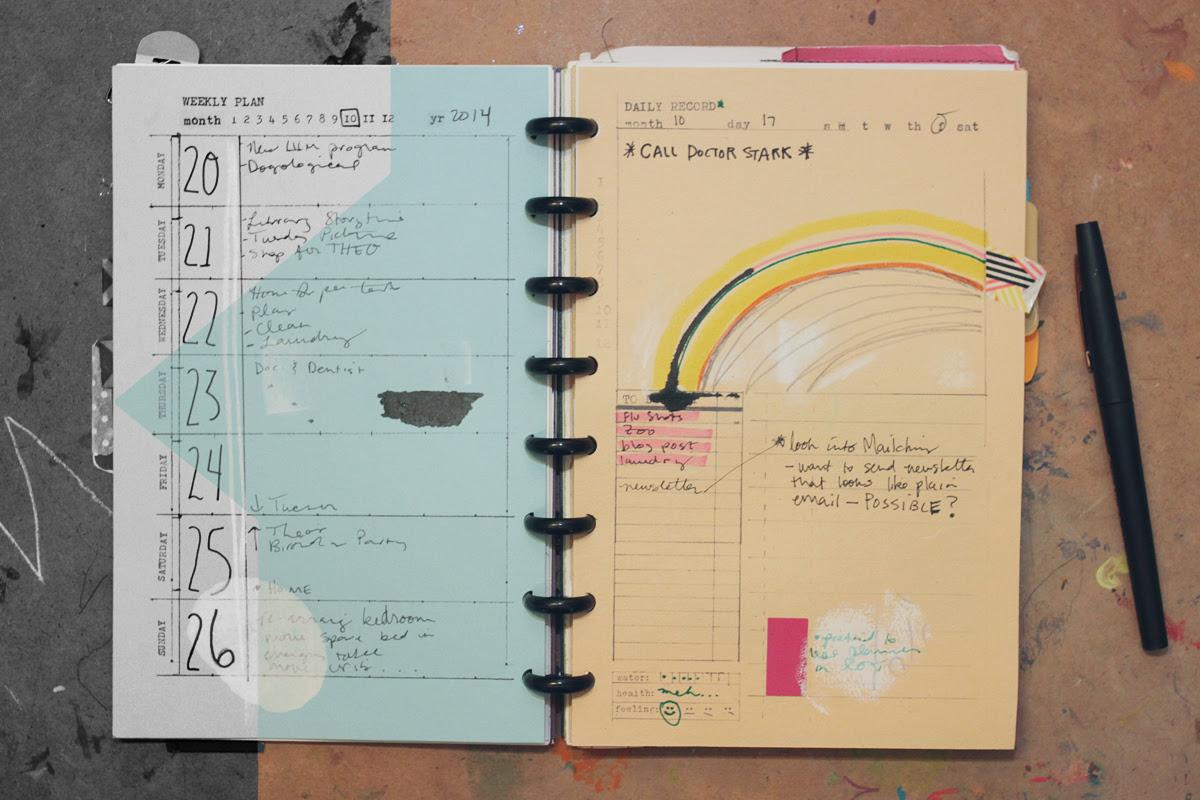 Day, Week, Month - 5.5 x 8.5 Templates | Amanda Hawkins | Ahhh Design