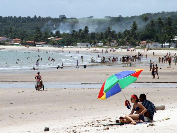 Praia de Pitimbu (Foto: Francisco França/Jornal da Paraíba)
