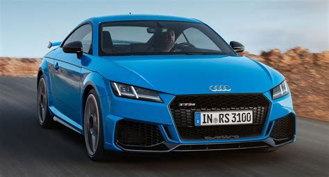 audi tt rs   refresh  liter turbo