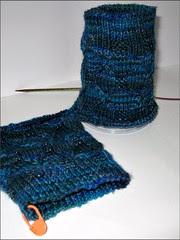 Queen of Beads sock cuffs