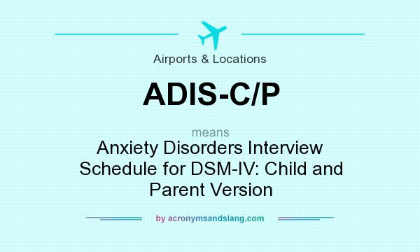What does ADIS-C/P mean? - Definition of ADIS-C/P - ADIS-C ...
