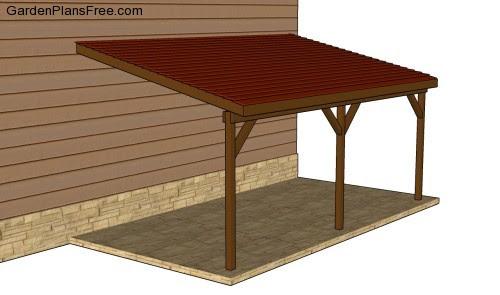 Attached Carport Plans | Free Garden Plans - How to build garden ...