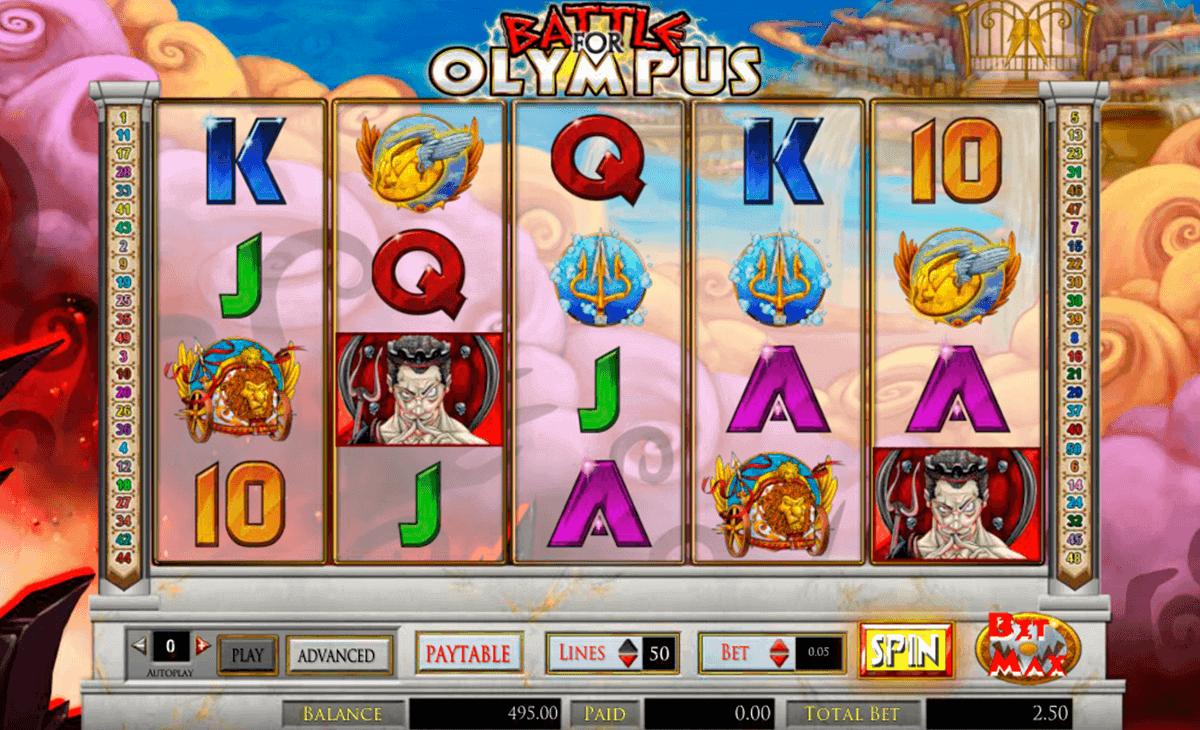 Battle for olympus slot machine online amaya Osmaneli