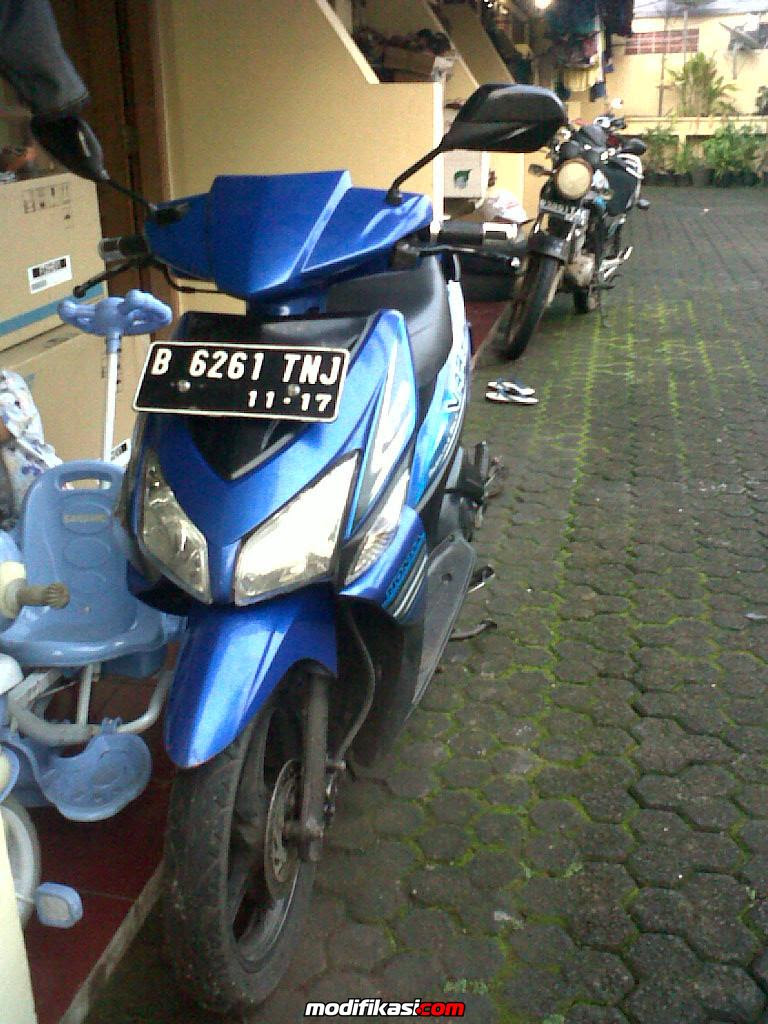 Modif Vario Warna Biru Galeri Motor Vario