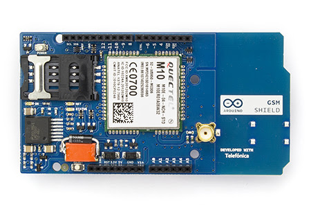 Arduino GSM Shield Front