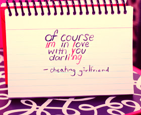 Of Course Im In Love With You Darling Cheating Girlfriend